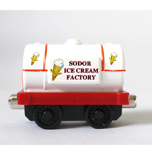 D931 Thomas and friends Diecast magnetic alloy tank locomotive children Track Toys- sodor ice cream factory tank truck