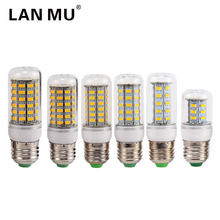 LAN MU Lampada Led Corn Bulb E27 SMD LED Lamp 24 36 48 56 69 72Leds Energy Saving Lights AC220V Spotlight For Indoor lighting