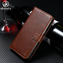 AKABEILA PU Leather Wallet Flip Stand Phone Case For Lenovo Vibe C Lenovo A2020 A2020a40 DS A 2020 A3910 A3910T30 5.0 inch Cover(China)