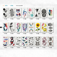 Buy cute children temporary tattoo sticker cat snake tiger flower fruit feather image neck hand face arm fake tattoos tatuagem women for $1.10 in AliExpress store