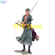 NEW hot 20cm One piece Roronoa Zoro Pictorial book action figure toys Christmas gift collectors AG143(China)