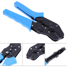 Blue Pin Crimping Tool High-Carbon Steel Crimping Plier 2.54mm 3.96mm 28-18AWG Crimper 0.1-1.0mm Square Dupont Crimp Tool