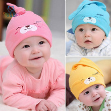 Baby &Kids New Baby Hat Autumn Winter Baby Beanie Warm Sleep Cotton Toddler Cap Kids Newborn Clothing Accessories Hat