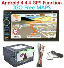 Double 2 Din 7 Inch In Dash Android gps navigation best Car DVD multimedia Player estereo para auto pantalla Auto Radios