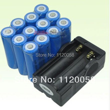 12x 5000mAh 3.7V 18650 Li-ion Rechargeable Battery + Charger For UltraFire LED Flashlight Torch flash light(China)