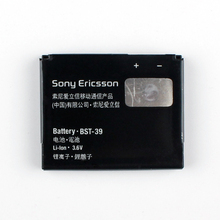 Original Sony BST-39 Battery For Sony Ericsson W805 TM717 W910i Z555i Z710c G702 J110a K200a T707 W380i W580 W600c(China)