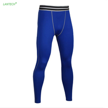 LANTECH Men Base Layer Compression Pants Tights Running Outdoor Training Exercise Fitness Gym Soccer Basketball Pants