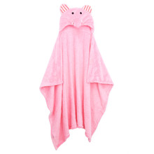 New Towels Baby Kid's Hooded Soft Bath Towel Toddler Blankets Cute Animal Flannel Cartoon Towel Newborn blankets