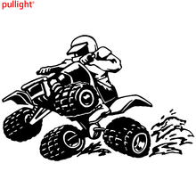 Sticker decal vinyl laptop car bumber quad ATV all terrain vehicle four wheeler