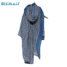 Womail Good Deal  2017 Hot Sale Special Design Hot Women Vintage Long Soft Printed Scarves Shawl Wrap  1pc*8