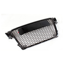 For Audi A4 B8 RS4 Style Black front Bumper Grill Grille 2009 ~ 2012(China)