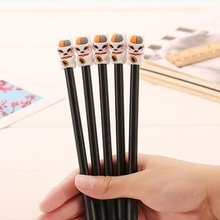 1pcs/lot Novetly 3D Lucky Cat design 0.38mm Black gel pen kawaii Signature pen funny gift office school Stationery supplies