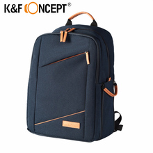 K&F CONCEPT Camera Backpack Bag Case for Canon Nikon Sony and all DSLR Cameras fit for 1 Camera+Multiple lenses free shipping(China)