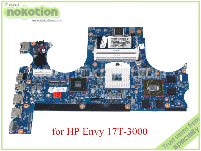 laptop motherboard for hp ENVY 17T-3000 665934-001 HM65 ATI HD6770M DDR3<br><br>Aliexpress