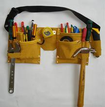 New Designer Waist Packs/Grip Double Leather Pouch Tool Belt Holder Electrician Construction Carpenter