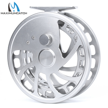 Maximumcatch Fly Fishing Reel Center Pin Floating Fishing Reel Aluminum 6061-T6 Floating Reel Silver Color(China)