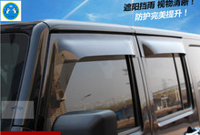high quality ! For Jeep Wrangler 2009 - 2015 Window Visors Awnings Wind Rain Deflector Visor Guard Vent / 2 Model For Choice