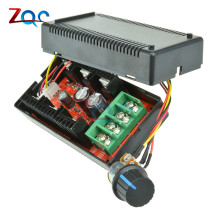 DC 12V 24V 48V 2000W MAX 10-50V 40A DC Motor Speed Controller PWM HHO RC PWM Regulator Control(China)