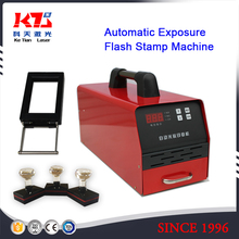 self inked automatic exposure photosensitive seal machine flash stamp Machine +5 38MM Holder Film Pad Kit(China)