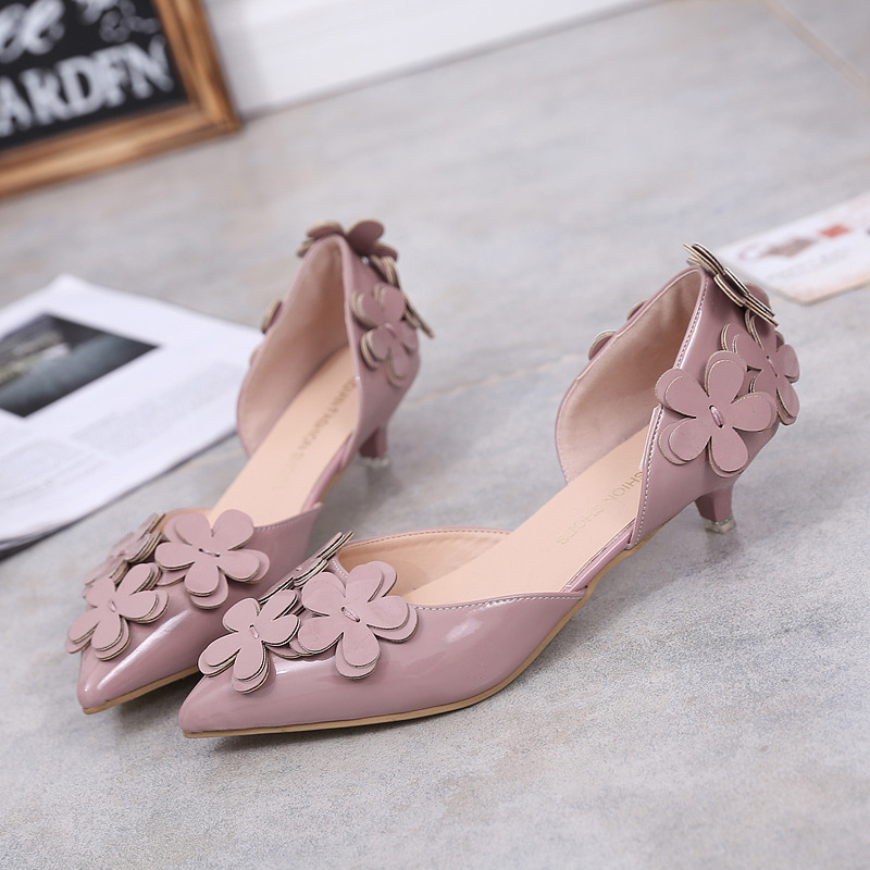 Women Shoes Pumps For Women Elegant Pointed Toe Charming Designer Shoes Women Luxury 2017 Sexy Slip On Charm Solid Leather Pumps<br><br>Aliexpress