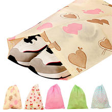 Fashion Printing Shoes Bag Portable Travel Storage Pouch Drawstring Dustproof Jul4 Professional Factory price Drop Shipping