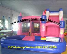 children amusement park swiming pool bounce houses pvc