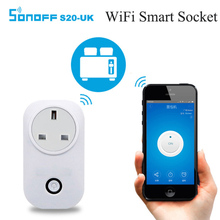Sonoff S20 Smart Home Charging Adapter Wireless Smart Switch WIFI home automation Power Socket by phone work with Alexa(China)