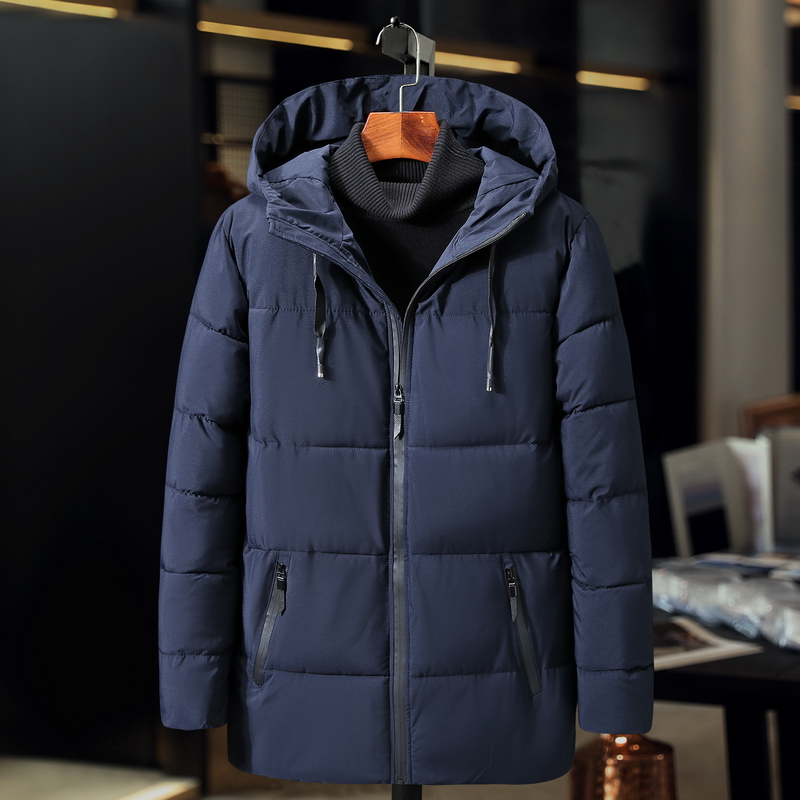 55515ce7562 plus Size 3XL 9XL men Cotton Padded Jacket Autumn Winter Men Casual Thicken  Warm Windbreak Outwear Hooded Varsity Coat