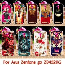 AKABEILA Plastic Case For Asus ZB450KL Case For Asus Zenfone GO 2nd Gen ZB452KG ASUS_X014D ZB450KL 4.5 inch Case Cover housing(China)