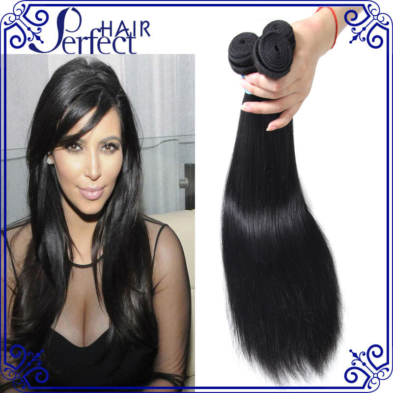 Brazilian Virgin Hair Straight 3 Bundles Lot  Hair virgin straight hair products Natural Color 100% Human Hair Weave<br><br>Aliexpress