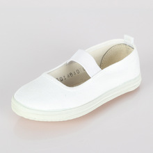 China KungFu Shoes For Kids Casual Shoes White Child's Canvas Light Sports Shoes Children Sneakers Boys/Girls Footwear Size22-35(China)