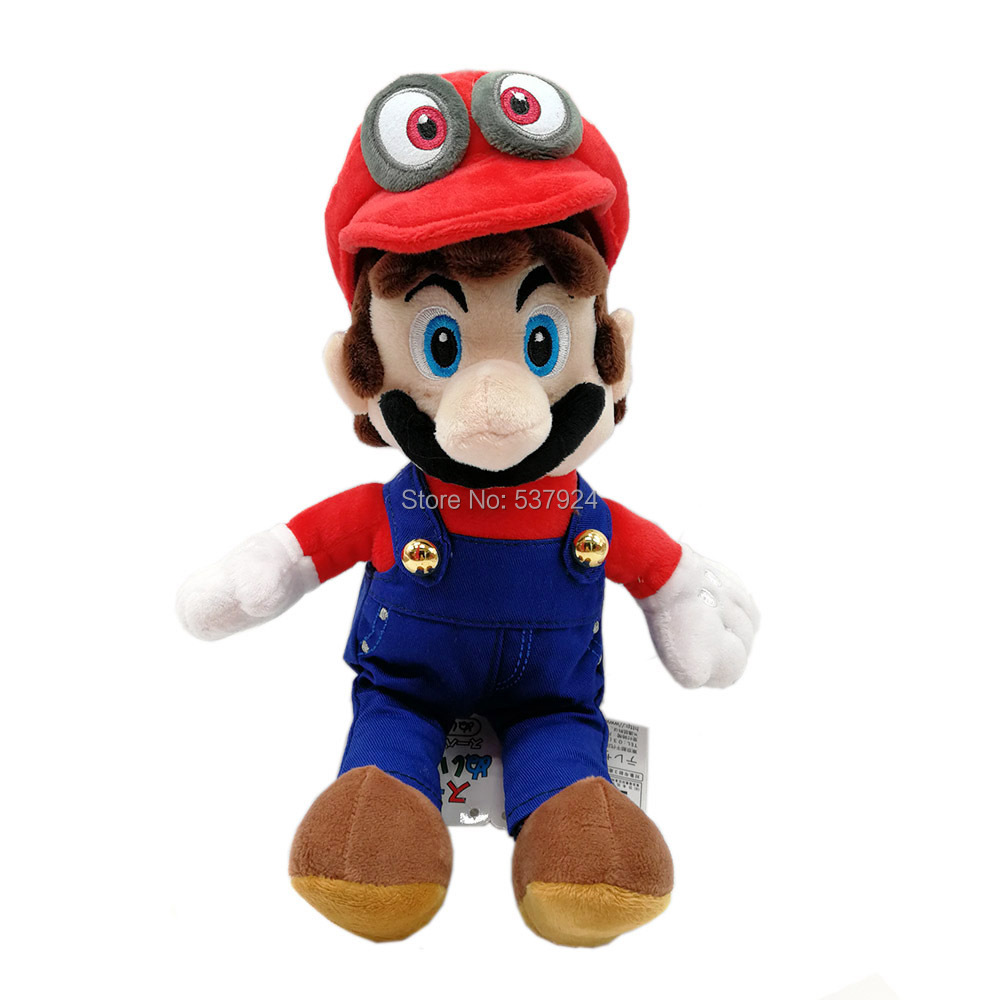 Mario with Odyssey Hat-8inch-140g-24.5-A