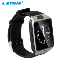 LETINE DZ09 Men Sport Smart Watch Wearable Devices with Camera Sim Card Bluetooth 3.0 Smartwatch for Android Apple Phone PK Q18