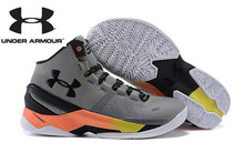 Free Shipping Men's Basketball Shoes,Under Armour Curry V2 Basketball Shoes,High Quality Men's Sports Shoes Sneakers Size 40-46