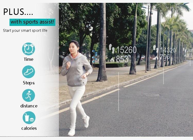 Original iwown I5 Plus Smart Bracelet Bluetooth Activity Wristband Fitness Sleep Tracker Reminder Passmeter Sports Watch 8