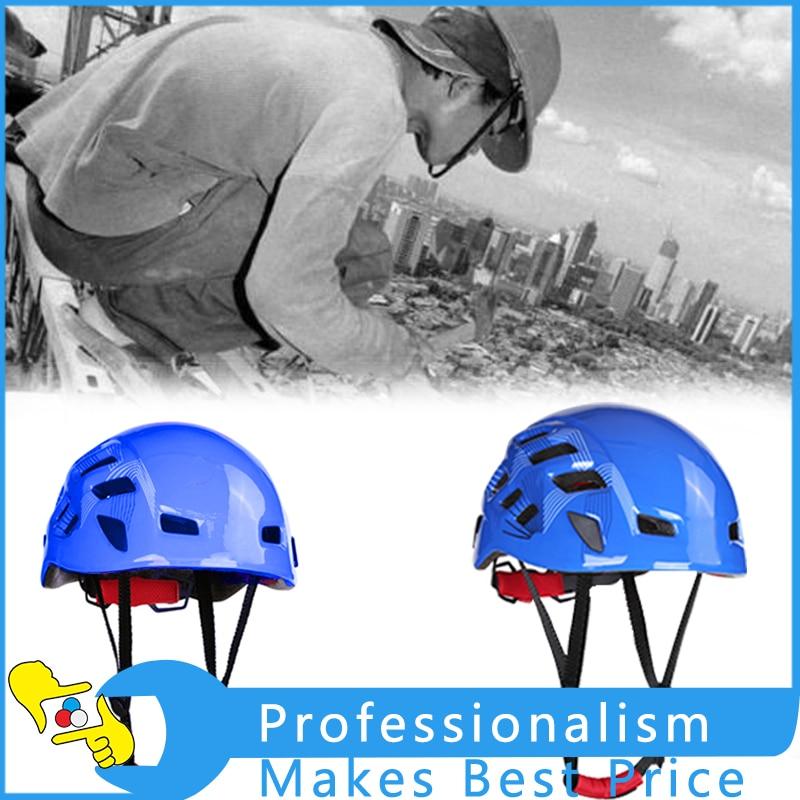 Outdoor Sport Safety Helmet Ventilated Helmet Mountain Ice Rock Climbing Helmet New<br>