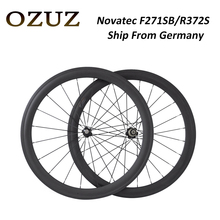 Ship From Germany F271SB/R372S Carbon Wheels 700C 38mm 50mm deep Clincher Tubular 23mm Width Road Bike Cycling Carbon Wheelset