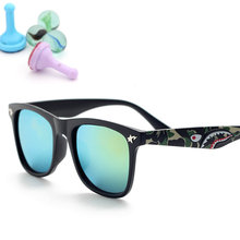 PANDDOG 2017 New Children Sunglasses Designer outdoor Shades For Boys Girls Goggle Baby Glasses Oculos Infantil KD6307