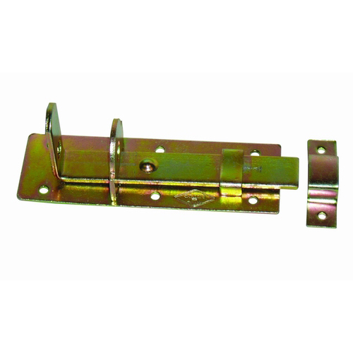 High Quality Iron Bolt in yellow zinc plated,