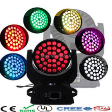 DMX stage light led moving head wash circle section control zoom led moving head 36x15W led beam light dj disco lighting