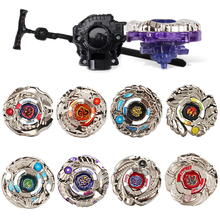 1pc Beyblade With Plastic Launcher Metal Fusion 4D Spinning Top BBG01 BBG02 Gift For Children #E(China)