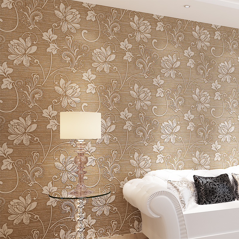 European Flower Damask Murals Papel De Parede Vintage Classic Rural For Bedroom Livingroom Sofa Backdrop Wallpaper 039-9<br><br>Aliexpress