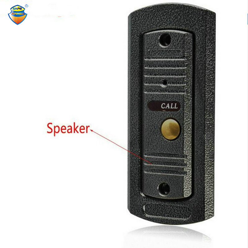 (1 PCS) NEW Video Intercom Entrance machine Door access Control Door Bell Only Outdoor Unit IR Camera Night visible waterproof<br>