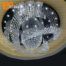 new large contemporary chandelier crystal lighting lustre foyer chandeliers