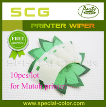 10pcs/Lot Cleaning wiper for mutoh DX2/DX4 printer White Wipper