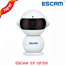 Escam Elf QF200 WIFI IP Camera HD 960P 1.3MP Indoor Infrared Day/Night Vision 360 Degree Rotation Alarm Security Wireless Camera(China)