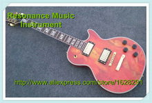 Popular Deisgn Naked Pattern Electric Guitar LP China OEM Factory In Stock