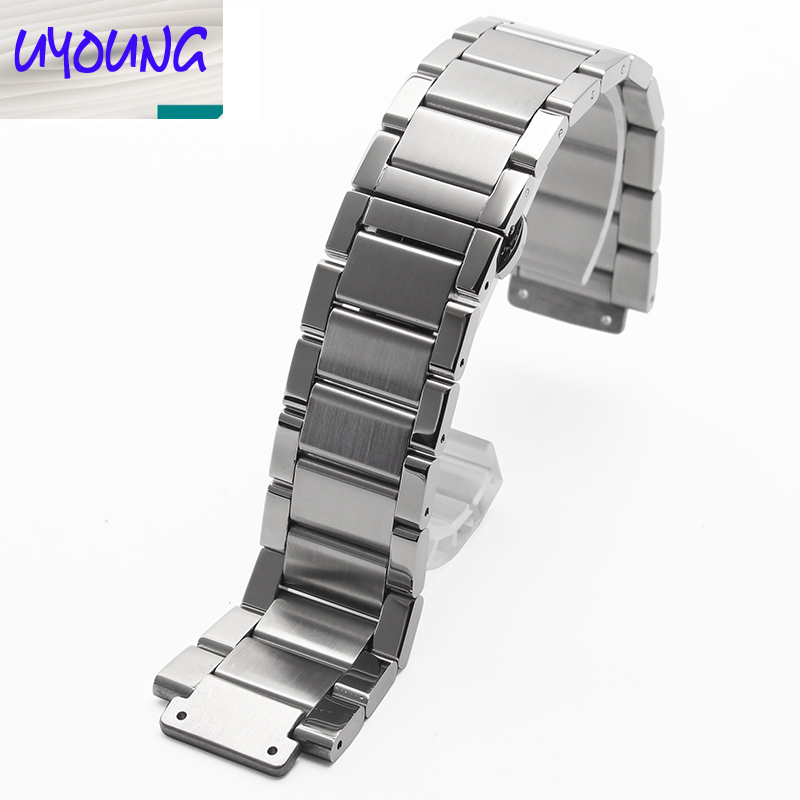 Yongyand Solid stainless steel stainless steel bracelet alternative convex mouth special interface male butterfly 27*19mm<br>