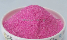 rose RED colorful glitter powder phosphor powder FOR NAIL POLISH,DIY , 500g/bag,Environmental protection,advertisement pigment