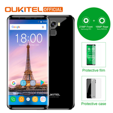 "Oukitel K5000 18:9 Infinity Display 5.7"" HD Mobile Phone MTK6750T 4G RAM 64G ROM Octa Core 5000mAh Fingerprint Smartphone(China)"